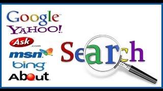 Cara Mengganti2 Mesin Pencarian Atau Search Engine Pada Google Chrome