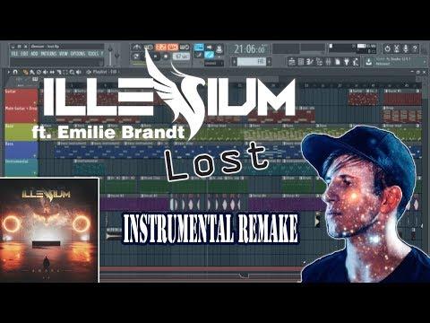 Illenium - Lost (feat Emilie Brandt) Instrumental Remake (Free FLP)