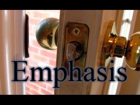 """Emphasis"""