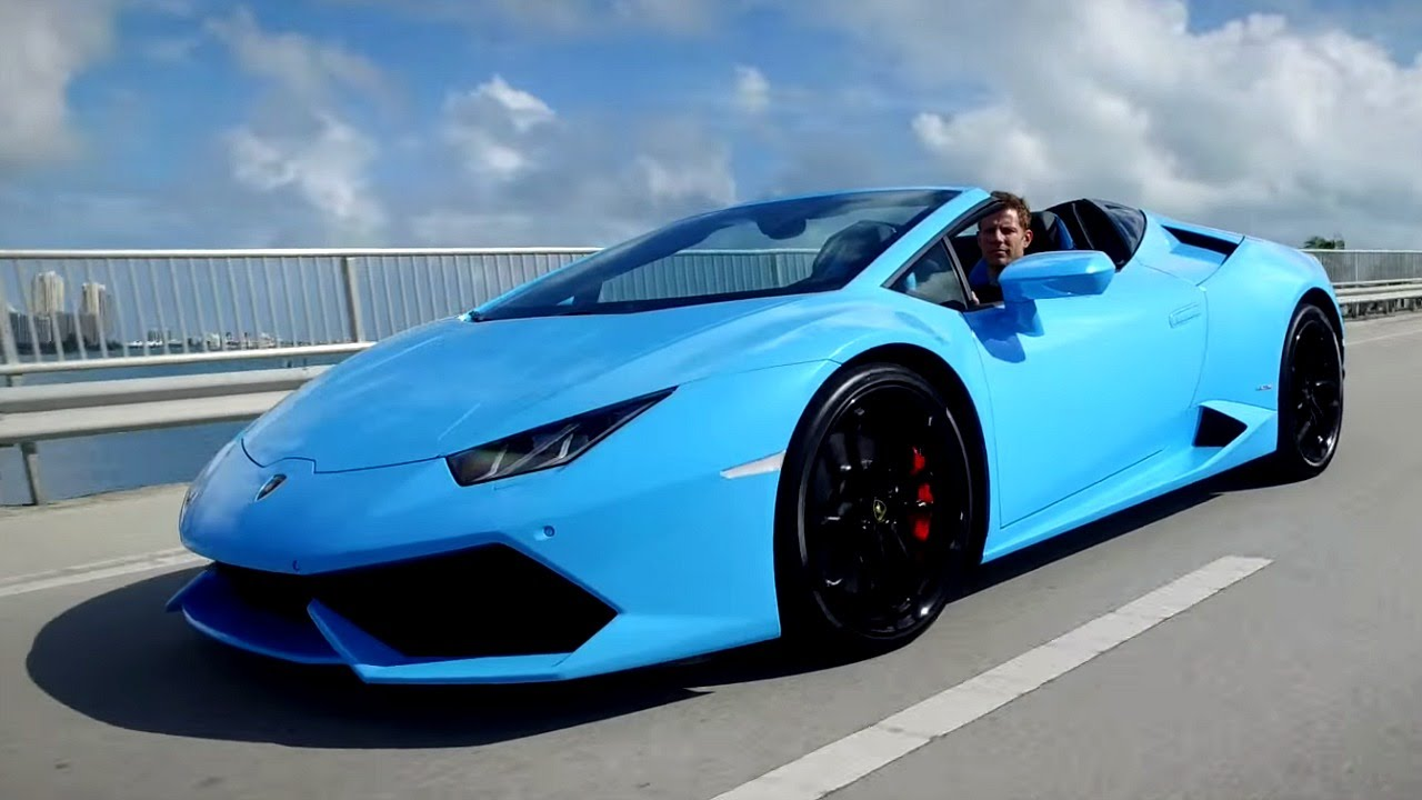 2016 lamborghini huracan spyder - review and road test - youtube