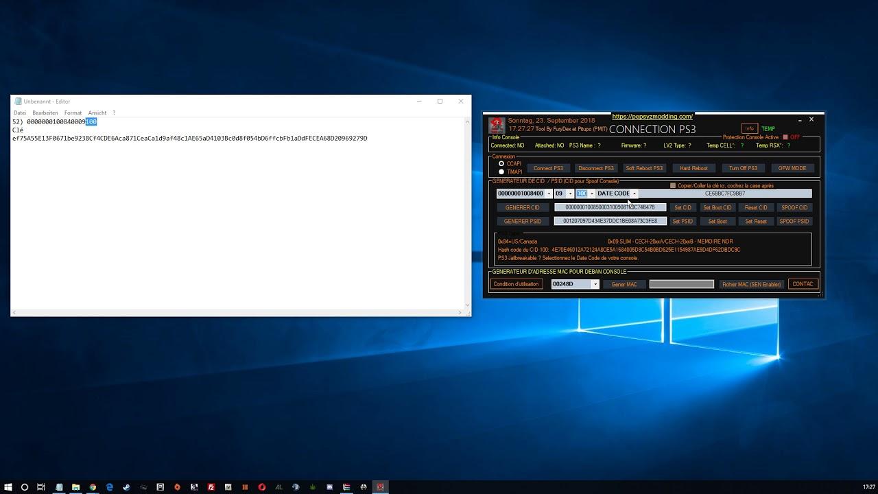 Débannir sa PS3 en 2018 - Unban Tool 100% - How To Use PMT Unbann Tool