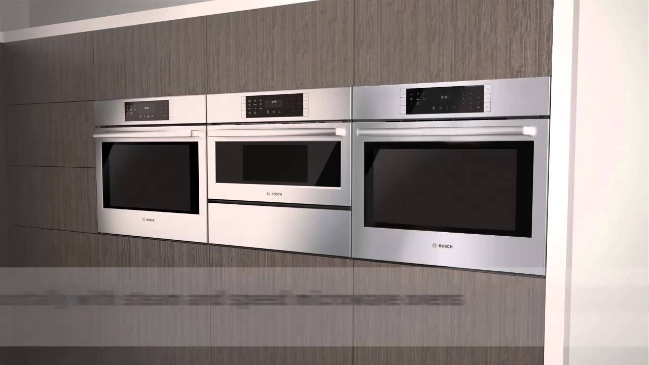 Bosch Drawer Microwave >> Bosch Wall Ovens - Nothing like a Bosch - YouTube