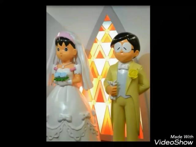 Kon tu jhe. Song.. nobita shizuka love video