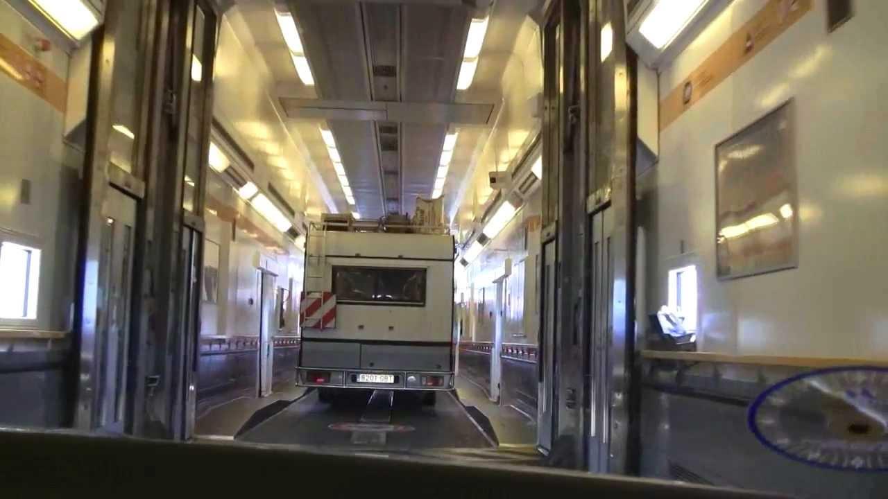 Dover Calais Tunnel >> Eurotunnel fra Dover til Calais - YouTube