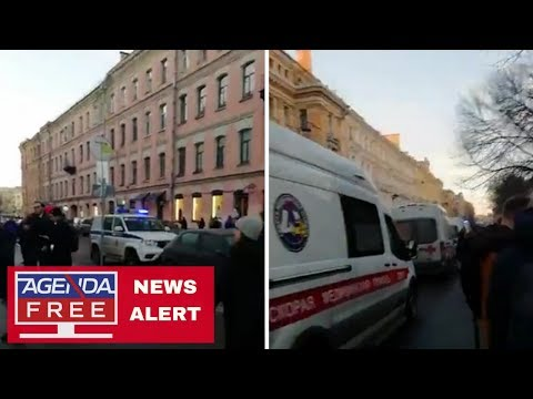 Building Collapse at St. Petersburg University - LIVE BREAKING NEWS COVERAGE