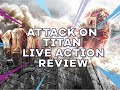Attack On Titan Live Action Movie - Review