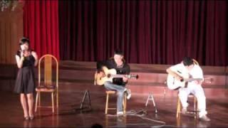 [Viet-Guitar Offline 18] Neko sings Em về tóc xanh by Quốc Bảo (Guitar: Hieuchimse)