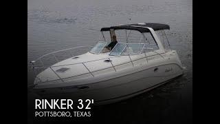 Used 2001 Rinker Fiesta Vee 310 for sale in Pottsboro, Texas
