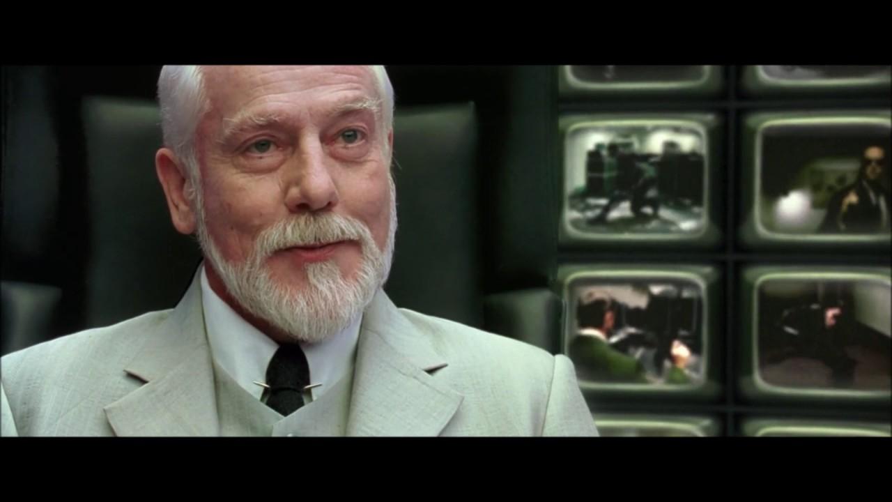 The matrix reloaded the architect scene 1080p part 2 for Matrix reloaded architect