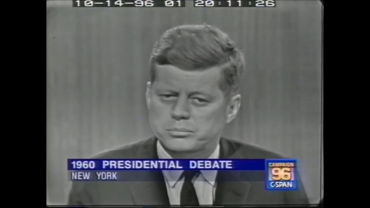 john f kennedy vs richard nixon On sept 26, 1960, 70 million american viewers watched the first presidential  debate between candidates richard nixon and john f kennedy.
