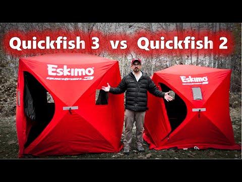 Eskimo Quickfish 3 Vs The Quickfish 2