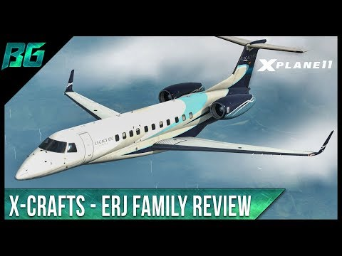 Embraer ERJ Family by X-Crafts - Review | X-Plane 11
