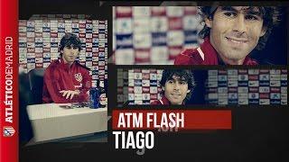 #ATMFlash | Tiago repasa la actualidad en la previa del Atleti-Benfica / Press conference of Tiago