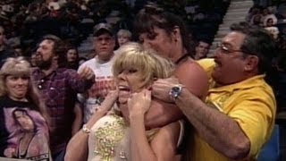 Chyna attacks Marlena from the crowd