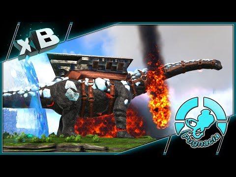 ELEMENTAL TITANOSAUR! :: MODDED ARK: PUGNACIA :: Ep 30