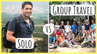 Solo vs Group Travel | Is It Worth Paying for an Organized Tour Service?