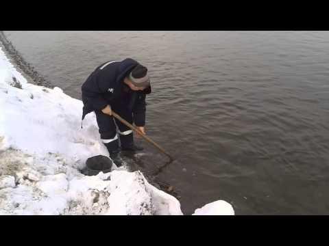 как добыть золото из реки при помощи лопаты!