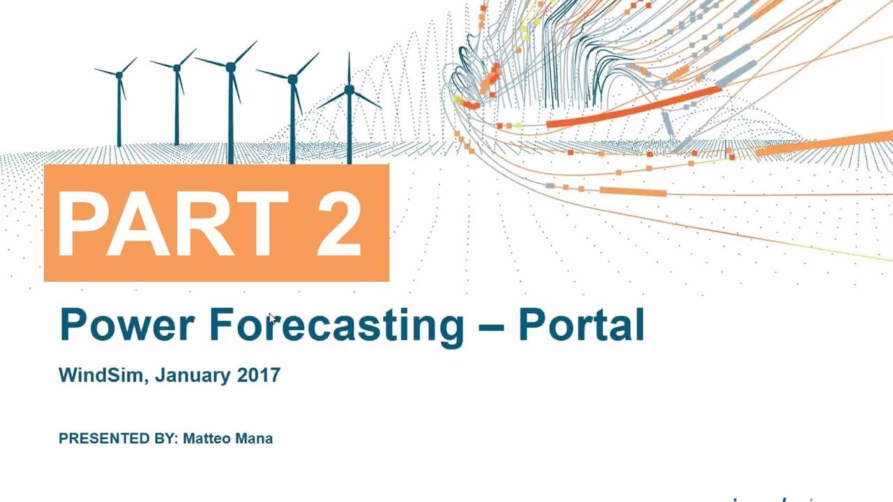 Windsim Power Forecasting