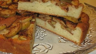 Как приготовить яблочный пирог на творожном тесте