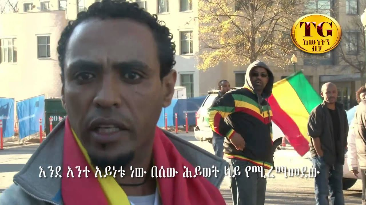 MUST WATCH  - Shameful Act of Ethiopian Diaspora Extremists (TG TV)