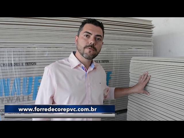 Promoção de Drywall (Gesso) nas Lojas Forre & Decore PVC no Rio de Janeiro / RJ!