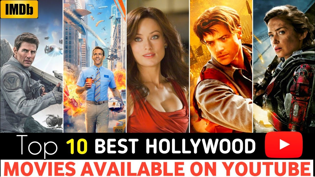 Download Top 10 Great, Hollywood Hindi Dubbed Movies || Available On YouTube,