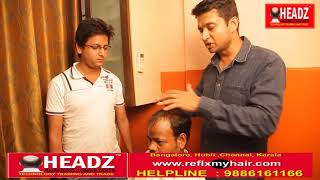 HEADZ hair weaving and clipping in bangalore 7204163166