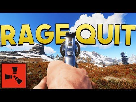 RAGE QUIT - Rust SOLO Survival #7 thumbnail