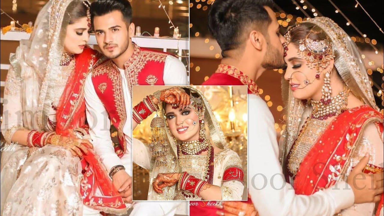 Kanwal Aftab & Zulqarnain Baraats Highlights 😍 Kanwal