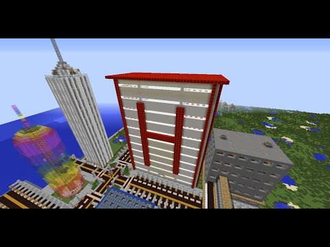 Minecraft City Jamestown #8 : The Hospital