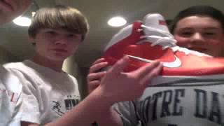 Nike basketball size 22 big shoe review