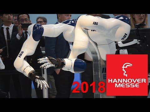 Impressionen von der Hannover Messe 2018