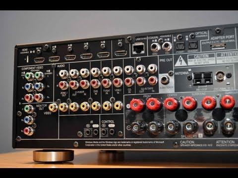 Pioneer AV Receiver VSX 1020K Unboxing and Tour  YouTube