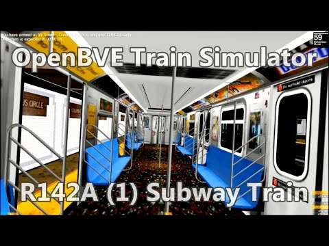 OpenBVE ►R142A | (1) Subway Train!◀