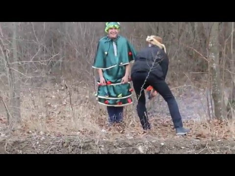 Видео сценка на Новый год Елочка в школе №2