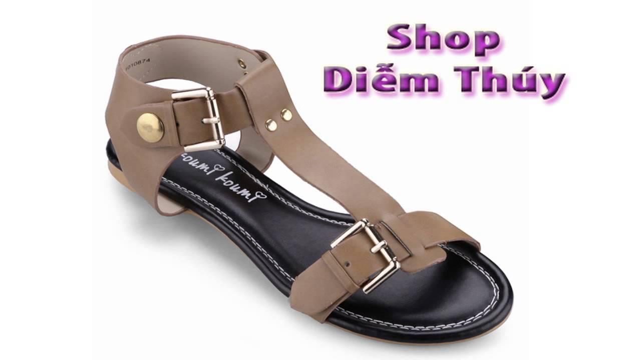 Shop Diễm Thúy | Dép Sandal |Dép Quai Hậu| Giáy Sandanl | Sandal Nữ | Đại Lý shopdiemthuy.com