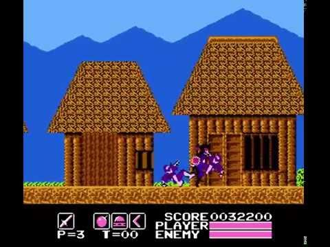 NES  127 Kamen no Ninja  Akakage