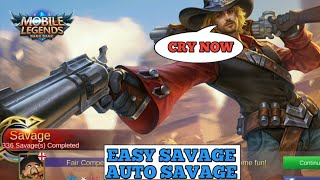 CLINT SAVAGE | AUTO SAVAGE BUILD | EASY SAVAGE | MOBILE LEGENDS