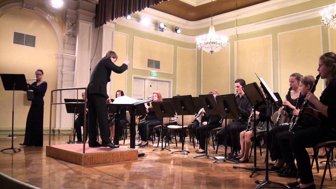 """00604 VII Baltijas valstu pūtēju orķestru diriģentu... forums, koncerts"""""""" Solo ar otķestri"""""""""""