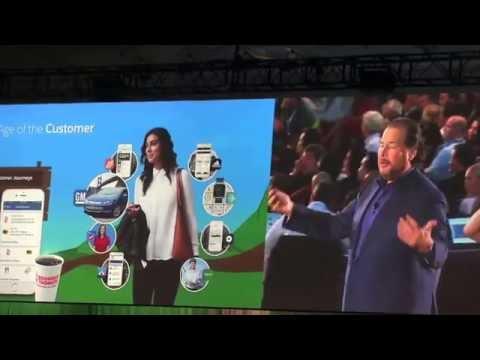 Dreamforce 2016 keynote : Marc Benioff, wed 10 5 2016