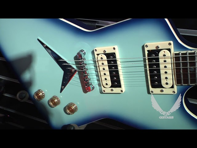 NAMM 2018 Dean Guitars-79 Series Blue Burst