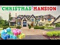 Wealthy Family's Abandoned Christmas Mansion