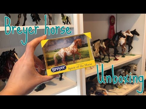 Breyer horse stabemate club Aiden unboxing and review