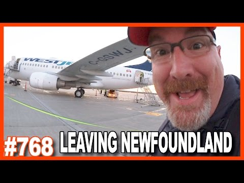 LEAVING NEWFOUNDLAND Traveling to Texas for CraveCon