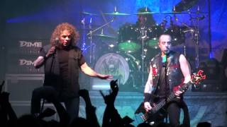 OVERKILL live in Zagreb on 11/ 03/ 2015