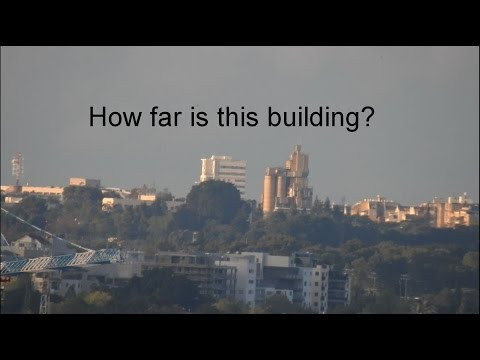 How far is this building? NIkon P900 Zoom away but Earth is still not flat