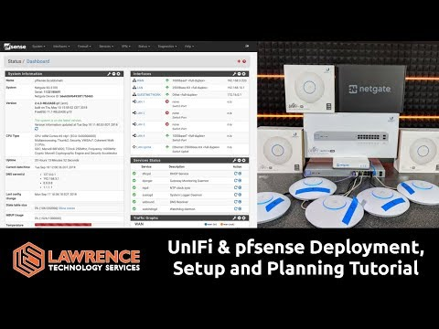 UnIFi & pfsense Deployment Setup and Planning with WiFi VLAN & Guest Network