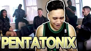 Pentatonix - New Rules x Are You That Somebody? REACTION!!! (Dua Lipa x Aaliyah)