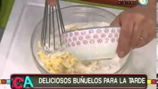 Buñuelos de banana