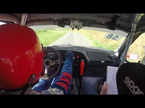 Rallye des Vins Mâcon 2017 - Buisson/Mure - 7ème temps scratch - Es10 - 306 Maxi F2014